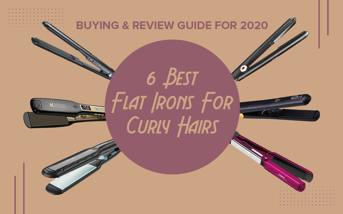 Best Flat Irons for Curly Hair – 6 Tools We Love